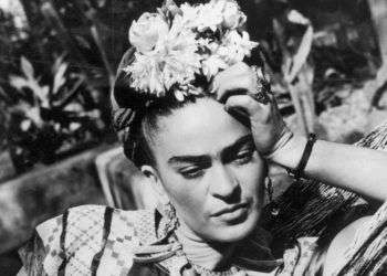 Frida Kahlo en 1950. Foto: Hulton Archive / Getty Images.