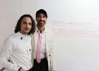 Maikel Domínguez, izquierda, y Eduardo Herrera. Foto: Elaine Vilar.
