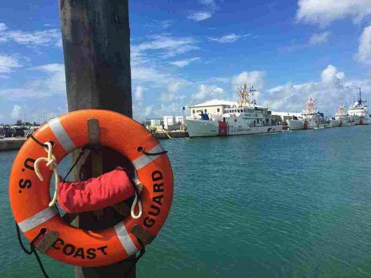 Guardia Costera de Estados Unidos, Cayo Hueso, Florida. Foto: Melissa Block / NPR.
