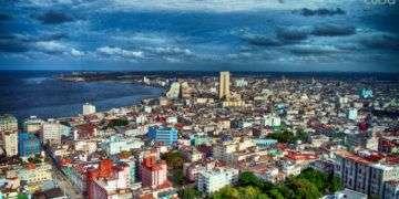 Parte del Vedado y Centro Habana. Foto: Otmaro Rodríguez.