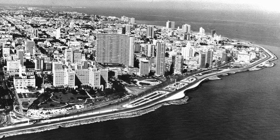 La Habana desde el mar.