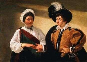 La buenaventura, de Caravaggio.