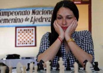 La maestra internacional cubana Lisandra Llaudy. Foto: Carlos Rafael / ahora.cu / Archivo.