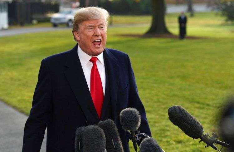 El presidente estadounidense Donald Trump. Foto: Susan-Walsh / AP.