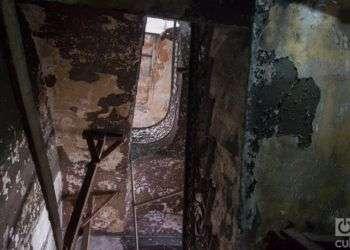Interior de Zulueta 505. Foto: Otmaro Rodríguez.