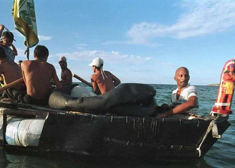 Balseros cubanos. Foto: Getty Images.
