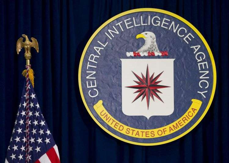 Escudo de la CIA en la sede de Langley, Virginia. Foto: Carolyn Kaster / AP.