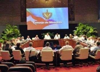 Consejo de Ministros de Cuba. Foto: Estudios Revolución.