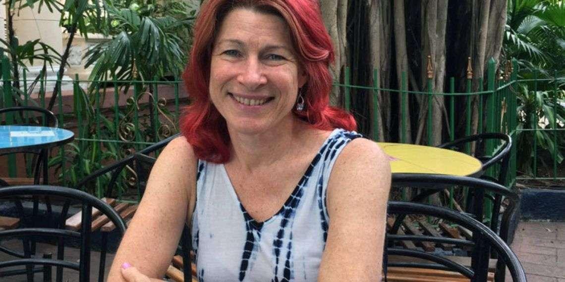 Donna Marie Factor en La Habana. Foto: Claudio Aguilera.