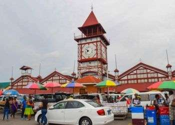 Georgetown, capital de Guyana. Foto: Global Storybook.