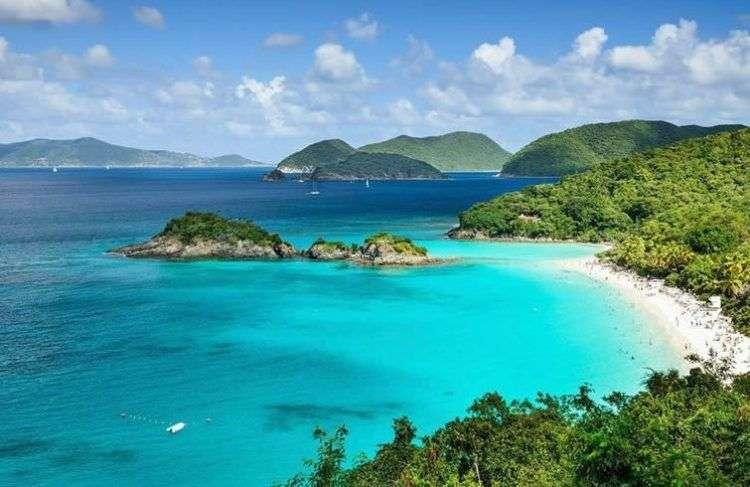 Islas Vírgenes. Foto: harpersbazaar.com.