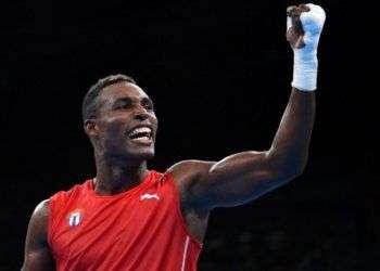 Julio César La Cruz ganó su cuarto oro mundial y lideró a los boxeadores cubanos en la temporada. Foto: Cubasí.