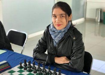 La ajedrecista cubana Lisandra Ordaz. Foto: @lisychess / Facebook / Archivo.