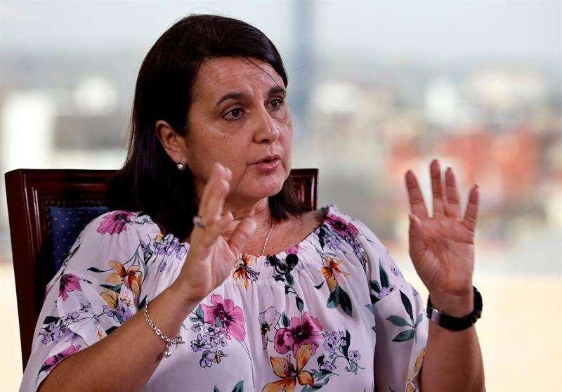 La arquitecta Perla Rosales, directora adjunta de la Oficina del Historiador de la Ciudad (OHC. Foto: Ernesto Mastrascusa.