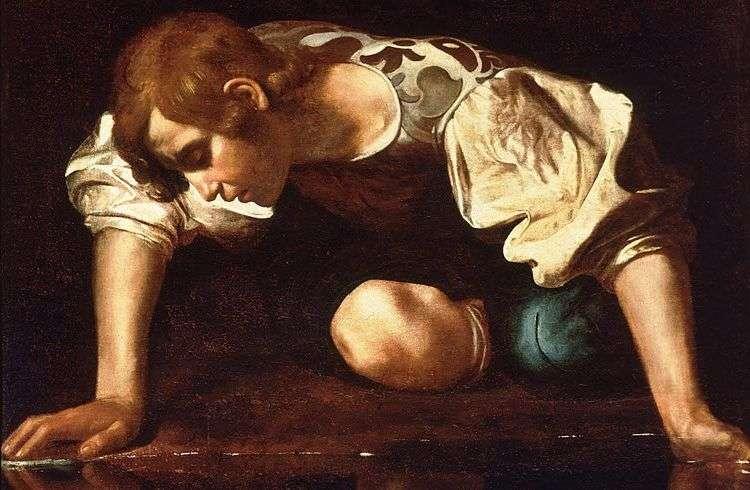 Narciso, de Caravaggio.