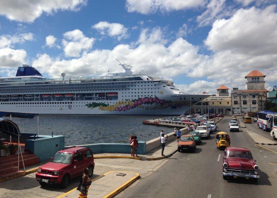 Norwegian Sky en Cuba.