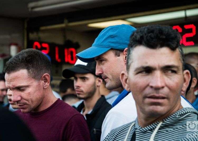 Emigrantes cubanos en México durante la crisis migratoria de 2017. Foto: Irina Dambrauskas.