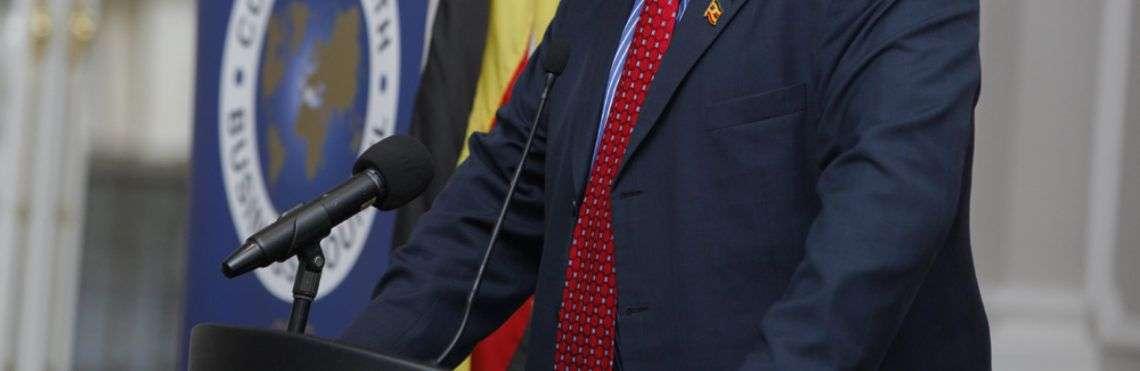 El ministro de estado para relaciones internacionales de Uganda, Henry Okello Oryem, dijo que espera que los jefes de estado respondan en la cumbre este mes de la Unión Africana a las declaraciones de Trump. Foto: redpepper.co.ug.