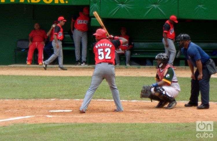 Reutilio Hurtado fue durante dos décadas un icono del equipo de Santiago de Cuba. Foto: Eduardo González.