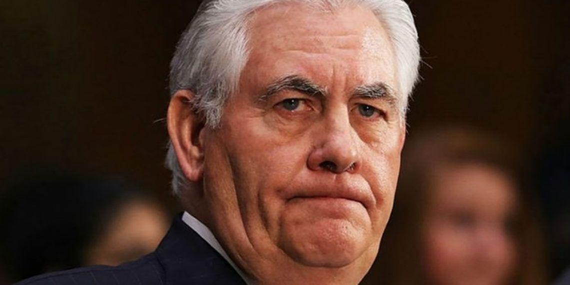 El ex secretario de Estado, Rex Tillerson. Foto: Tomada de palabrasclaras.mx.