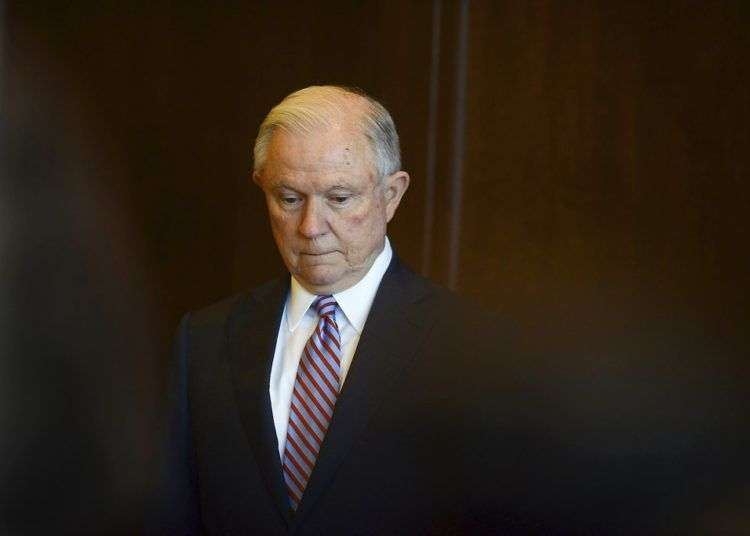 Jeff Sessions. Foto: Butch Comegys / The Times-Tribune vía AP.