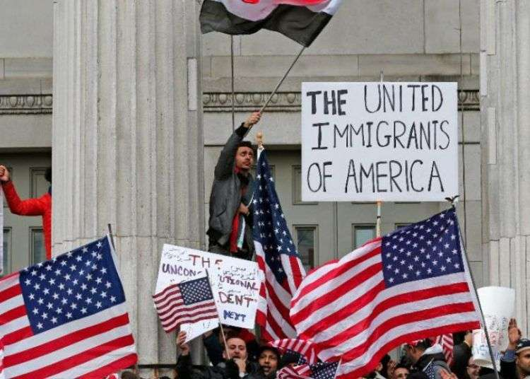 The United Immigrants of America. Foto: AFP.