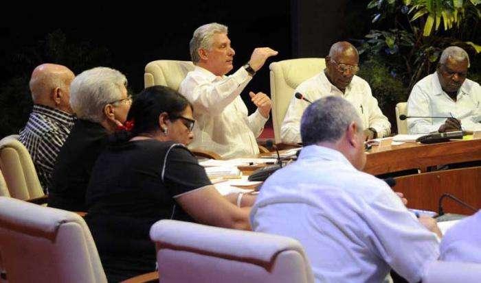 Consejo de Ministros. Foto: Granma.
