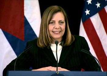 Josefina Vidal, comandó el team diplomático cubano desde que comenzaron los procesos de la normalización de relaciones entre Cuba y EE.UU,