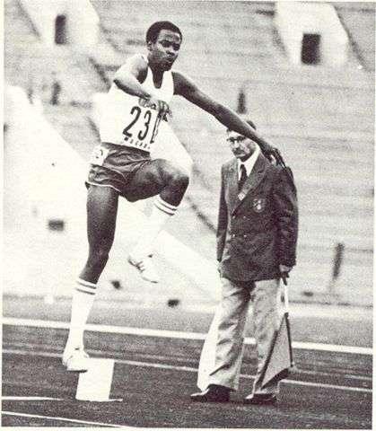 En 1971 implantó su record, durante los Juegos Panamericanos de Cali, Colombia.