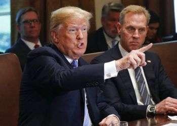 El presidente Donald Trump en una reunión de su gabinete . Foto: Pablo Martinez Monsivais / AP / Archivo.