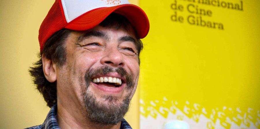 Benicio del Toro participa en el Festival Internacional de Cine de Gibara. (Juan Pablo Carreras / Especial para GFR Media)