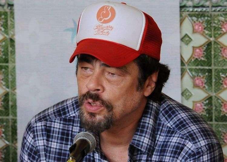 Benicio del Toro en el Festival de Gibara. Foto: Carlos Rafael Álvarez.