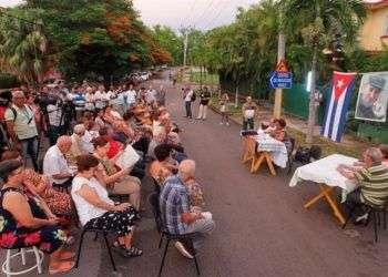 Asamblea de discusión del proyecto de nueva Constitución de Cuba, el 13 de agosto de 2018, en La Habana. Foto: Yander Zamora / EFE.
