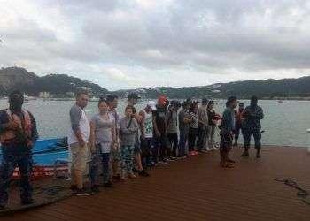 Fuerza Naval captura inmigrantes ilegales en San Juan Del Sur. Foto: El 19.