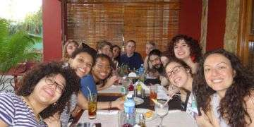 North-american students in Havana. Photo: Courtesy of students and teachers