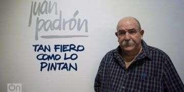 "Juan Padrón, ""Tan fiero como lo pintan"". Foto: Otmaro Rodríguez."