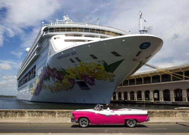 Puerto de La Habana, Cuba. Foto: Desmond Boylan / AP.