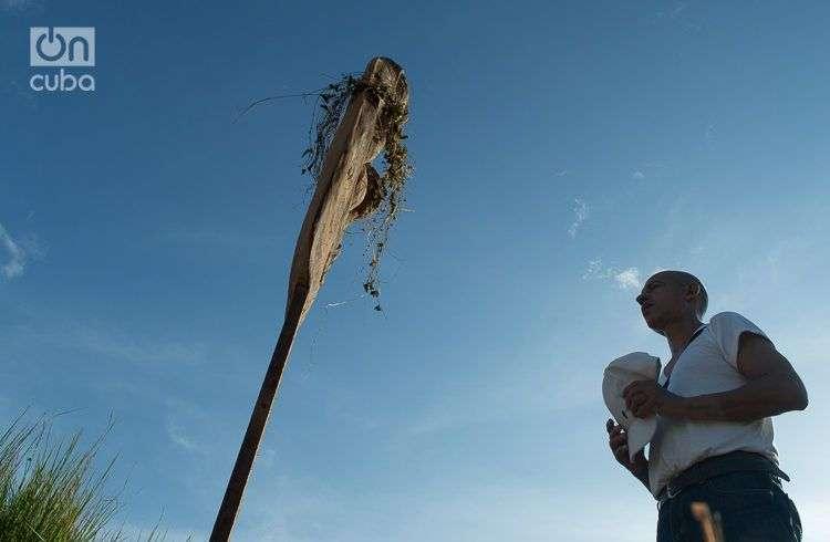 Celebración del día de la Pachamama en Cuba. Foto: Otmaro Rodríguez.