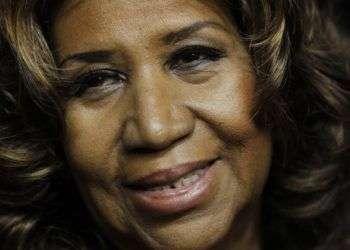 Aretha Franklin, la Reina del Soul, en una foto tomada en 2011. Foto:Paul Sancya/AP.