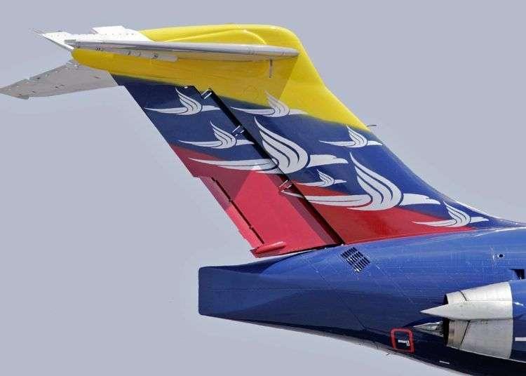Aeropostal reanudó sus operaciones con vuelo Caracas-La Habana.