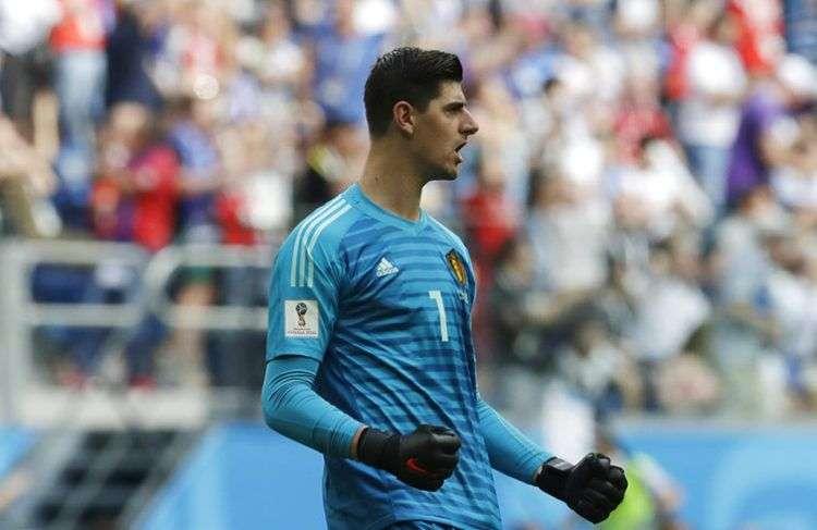 Tras su gran actuación con Bélgica en Rusia 2018, el arquero Thibaut Courtois llegó al Real Madrid. Foto: Petr David Josek / AP.