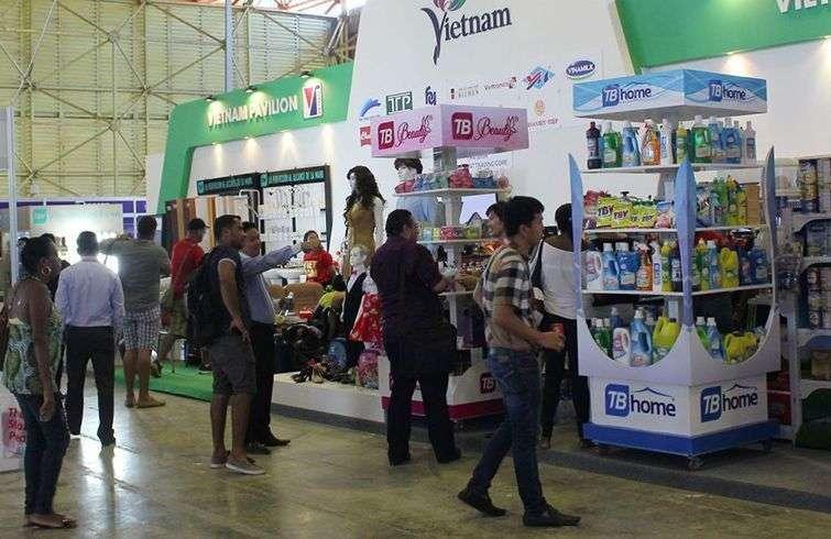 Stand de la compañía vietnamita Thai Binh en la Feria Internacional de La Habana (FIHAV). Foto: thaibinhcorp.vn