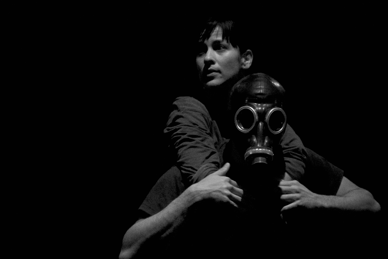 """Isabel Bustos: """"'Mensajeros' es un poco esa angustia, esa falta de oxígeno"""". Foto: Javier García."""