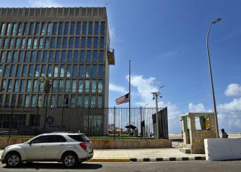 Embajada de Estados Unidos en La Habana. Foto: EFE / Archivo.
