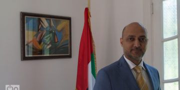 El Excmo. Sr. Bader Abdullah Al Matrooshi, embajador de los Emiratos Árabes Unidos en Cuba. Foto: Otmaro Rodríguez.