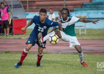 Partido entre Cuba y Turcas y Caicos, en la Liga de las Naciones de la Concacaf, e el Estadio Pedro Marrero de La Habana. Foto: Otmaro Rodríguez / Archivo.