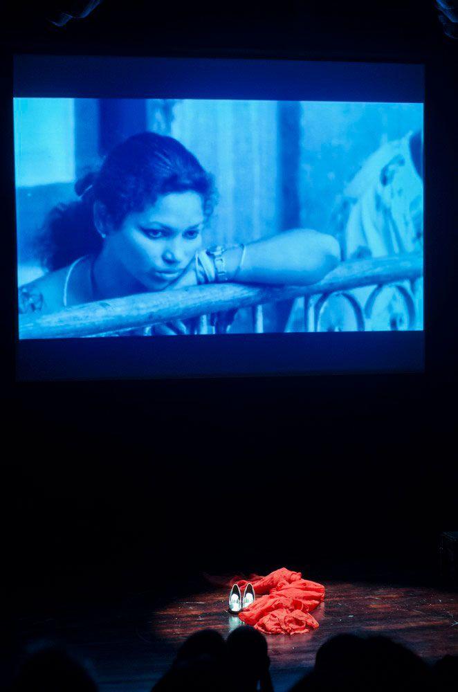 Monse Duany en el estreno deMuñeca Rota. Foto: Enrique Smith.