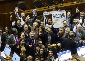 La Cámara de Diputados de Chile aprobó la Ley de identidad de género. Foto: La Nació