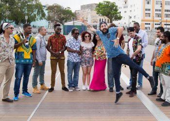 La banda cubana Interactivo. Foto tomada de los perfiles de la banda en redes sociales / Archivo.