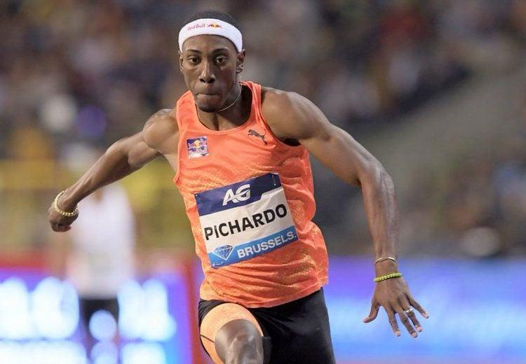 El ahora portugués Pedro Pablo Pichardo en la final de la Liga del Diamante en Bruselas. Foto: IAAF Diamond League.